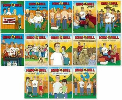 King of the Hill The Complete Series 1-13  DVD Set 37 Disc Season  BRAND NEW U