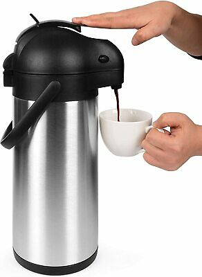 101 Oz Thermal Coffee Dispenser - Insulated Coffee Airpot with Coffee Air Pump