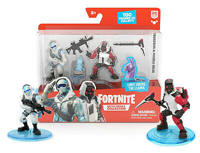 Fortnite Frostbite - Double Helix Battle Royale Collection 2 Figures New in Box