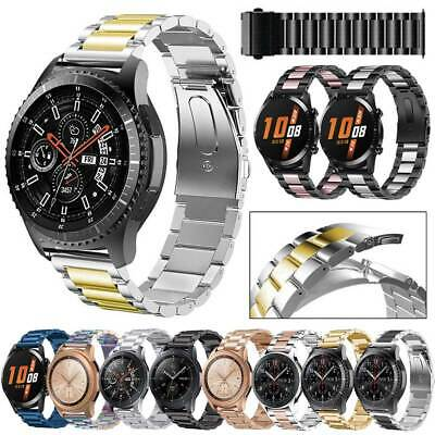 Watch Band Stainless Steel Bracelet For All 22mm Watches Wrist Strap Buckle New