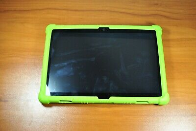 Lenovo tablet TB-X505F black with green case- one or two scratches works great-