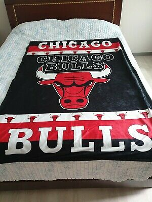 NBA Chicago Bulls Throw Blanket Size 42 X 59 Awesome NEW
