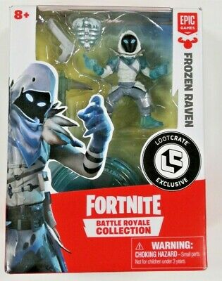 Fortnite Frozen Raven Battle Royale Collection Loot Crate Gaming Exclusive NEW