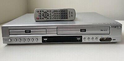 GoVideo VCRDVD Combo Player Recorder DV2140 With Remote Tested
