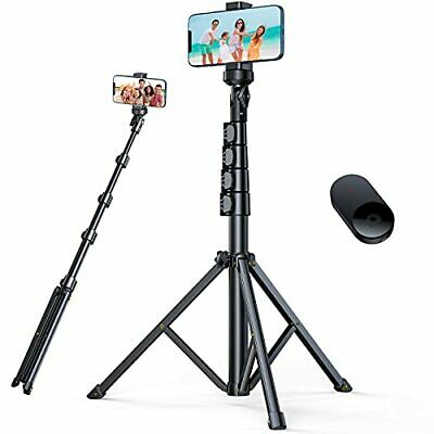 andobil 62'' All-in-One Tripod for iPhone with Bluetooth Remote Extendable Tr...