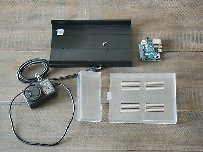 Odroid HC2 broken with Power Supply 12v 2a clear plastic cover case HC-2