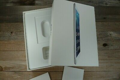 iPad Air WiFi Box for 16GB Silver Model A1474 White EMPTY BOX ONLY