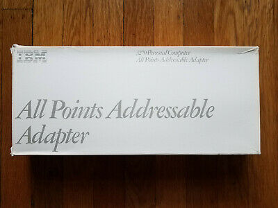 IBM APA All Points Addressable Adapter w Box and Manual 3270 1501208 1