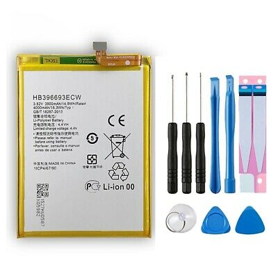 Replacement Battery for Huawei Mate 8 NXT-L09 AL10 DL00 TL00 HB396693ECW 4000mAh