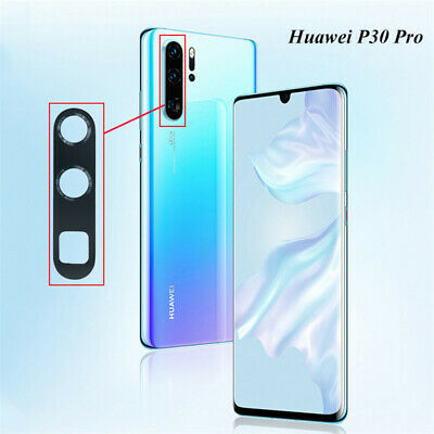Black Rear Back Camera Glass Lens Cover Replacement Parts For Huawei P30 Pro/P30