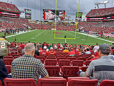NEW YORK GIANTS VS TAMPA BAY BUCCANEERS 2 ENDZONE LOWER BOWL TICKETS