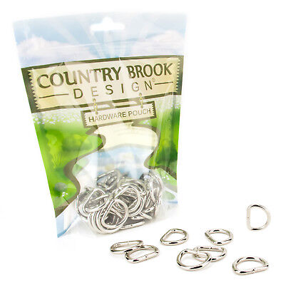 25-Country Brook Design® 34 Inch Welded D-Rings