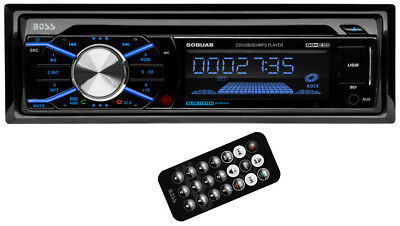 Boss 508UAB In Dash CD Car Player USBSD MP3 Stereo Audio Receiver Bluetooth