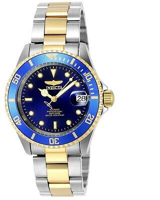 Invicta Mens Watch Pro Diver Automatic Two Tone Stainless Steel Bracelet 8928OB