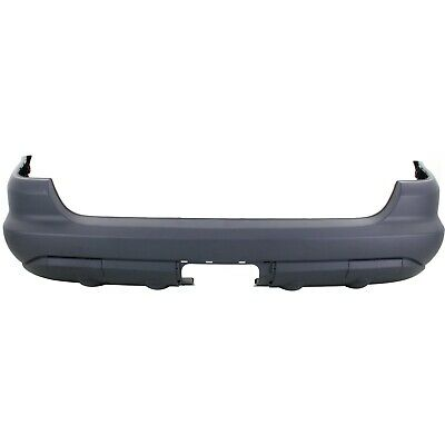 Rear Bumper Cover For 2003-2005 Mercedes Benz ML350 Base Pkg w Tailer Coupling