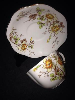 Taylor and Kent brand Design  6776f Fine english bone china Tea cup and saucer