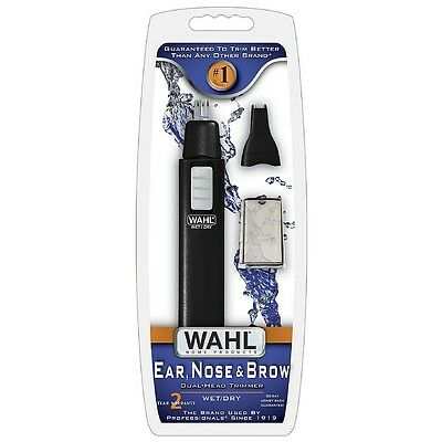 Wahl Ear Nose - Brow Dual-Head WetDry Trimmer 1 ea