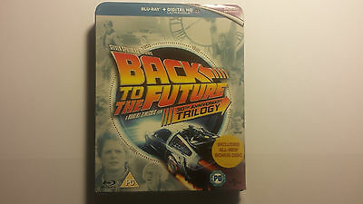 2015 Back to the Future Trilogy 30th Anniversary Edition Blu-ray Region Free New