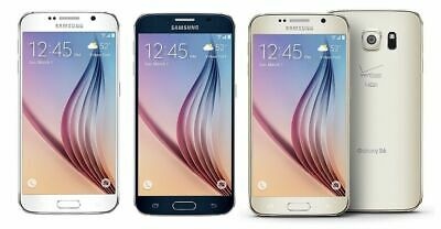 Samsung Galaxy S6 G920V 32GB 64GB Verizon AT-T T-Mobile GSM UNLOCKED Smartphone