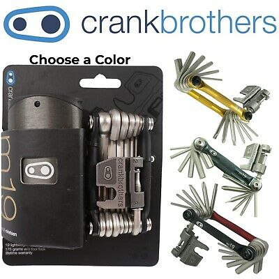 Crank Brothers M19 Multi Bike Tool Chain Breaker Torx w Case 19 Tools