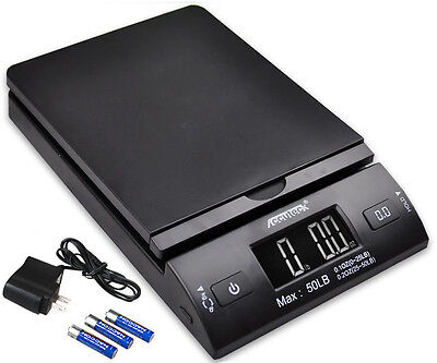 Accuteck 50lbx0-2oz All-In-One PT50 Digital Shipping Postal Scale WAC Postage