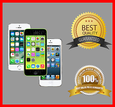 Apple iPhone 5 5S 5C 5SE Cracked Glass LCD screen Phone repair service