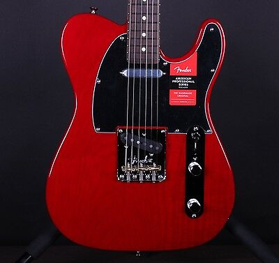 Fender American Professional Telecaster Crimson Red Electric Guitar Pro Tele