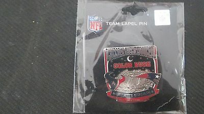 NEW ENGLAND PATRIOTS  VS. HOUSTON -THURSDAY NITE FOOTBALL PIN @ GILLETTE 9/22/16