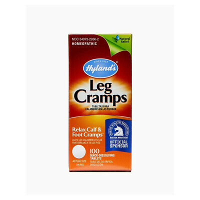 Hylands Leg Cramps Quick-Dissolving Tablets 100 ea