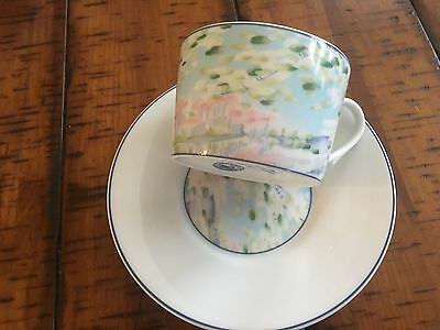 Impressions inspired by Claude Monet-  Fine china made by Raynaud in Limoges-