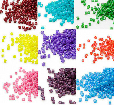 1200 Miyuki Delica 11 Glass Seed Beads 110 Lots of Opaque Colors 7-2 Grams