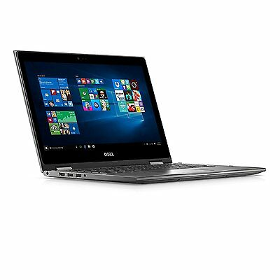 Dell Inspiron 13 Touchscreen Laptop 2in1 Intel i3 4GB 1TB HDD Win 10 Gray NEW
