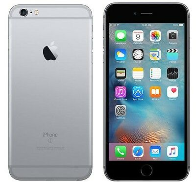 New Apple iPhone 6s - 16GB Space Gray AT-T 4G LTE Factory Unlocked Smartphone