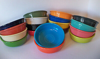 FIESTA NEW 1st Quality SMALL BOWL Retired - Current CHOOSE COLOR Fiestaware 14oz