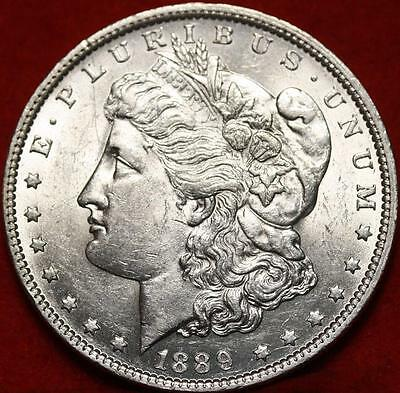 Uncirculated 1889-O New Orleans Mint  Morgan Dollar Free Shipping