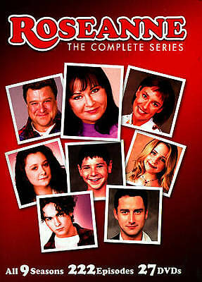 Roseanne The Complete Series DVD 2013 27-Disc Set FREE S-H