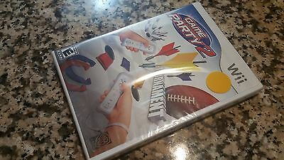 Game Party 2 for the Nintendo Wii BRAND NEW SEALED