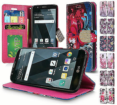 For LG Stylo 3 Stylo 3 Plus Design Wallet Credit Credit Slots Pouch Cover Case