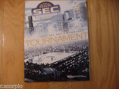 Florida Gators Win SEC Basketall Tournament Program-2007