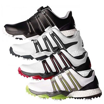 NEW Adidas Mens Powerband Boa Boost  Golf Shoes - Choose Size and Color
