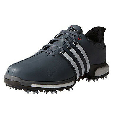 NEW Adidas Mens Tour 360 Boost Golf Shoes Onix  White  Red - Choose Size