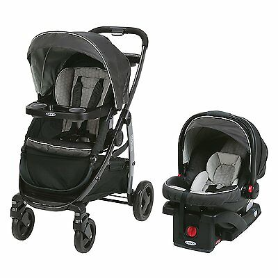 Graco Modes Travel System Davis - 3 Strollers in 1 - Car Seat Baby Toddler NEW
