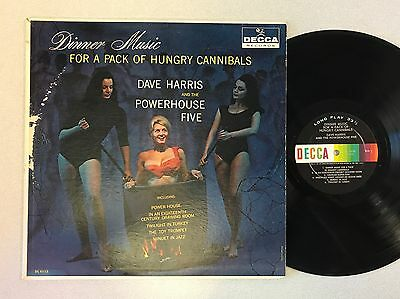 Dave Harris and the Powerhouse Dinner Music For a Pack of Hungry Cannibals lp