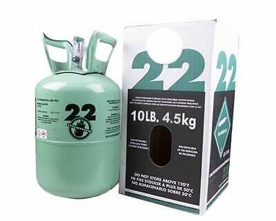 NEW R22 refrigerant 10 lb- factory sealed made in USA FREE SAME DAY SHIPPING