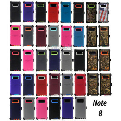 For Samsung Galaxy Note 8 Note 9 Case Universal Clip Fit Otterbox Defender Serie