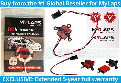 MyLaps Transponder RC4 3-wire for RC Cars AMBrc AMB rc - NEW
