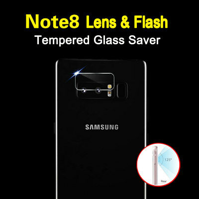 Dooqi Back Camera Lens -Flash Tempered Glass Protector For Samsung Galaxy Note 8