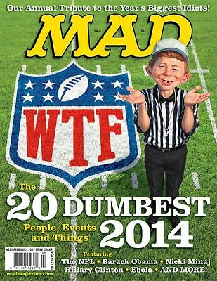 Lot of 3 Mad Magazine - 2 Are Special Collectors Editions - 1 February 2015