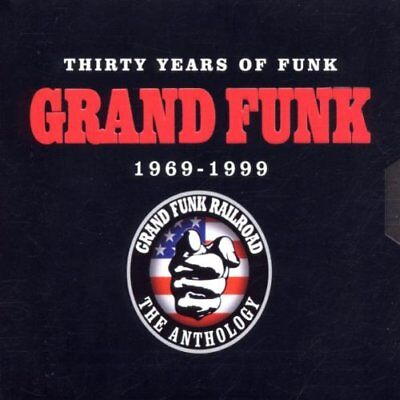 Grand Funk Thirty Years of Funk 1969-1999 3 CD set-