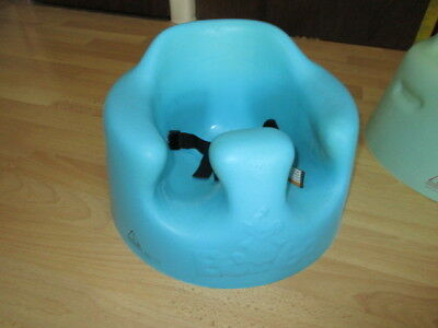 Bumbo Seat Baby Infant Floor Seat with Safety Straps Blue